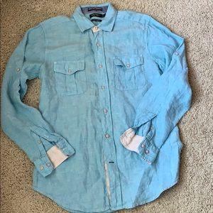 Nautica 100% Linen Shirt